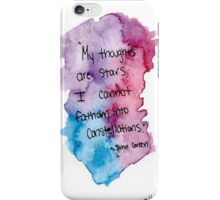 my thoughts iPhone Case/Skin