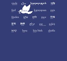 Peace in many languages Tank Top