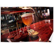Amsterdam - Gollem Cafe - Gollem Blonde & Bar Snacks Poster