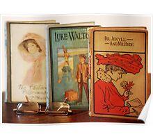 Vintage Books Poster