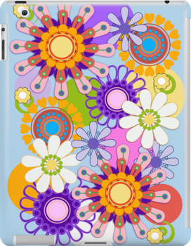 Decorative Spring Flowers case by walstraasart