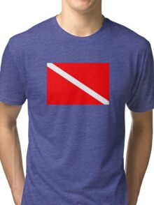 Dive! Tri-blend T-Shirt