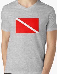 Dive! Mens V-Neck T-Shirt