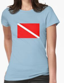 Dive! Womens Fitted T-Shirt