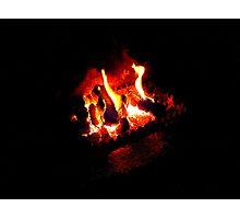 The Irish Turf Fire Photographic Print