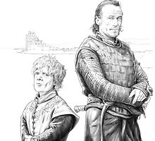 Tyrion and Bronn by ChrisEnterline