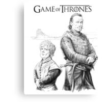 Tyrion and Bronn Canvas Print