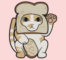 Lucky Cat - Breaded Cat by Dann Matthews