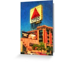 CITGO Sign Greeting Card