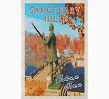 Sanctuary Hills Welcome home | Fallout inspired Vintage look Unisex T-Shirt