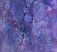 Purple Abstraction by Melissa Lackman