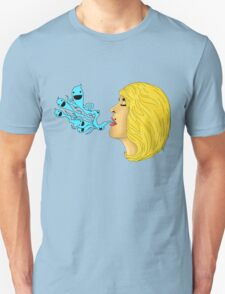 Emily's Ghosts (Black Outline) T-Shirt