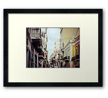 Old San Juan_1, Puerto Rico Framed Print