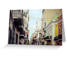 Old San Juan_1, Puerto Rico Greeting Card