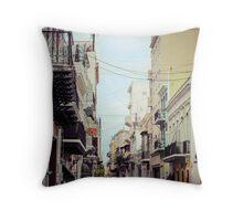 Old San Juan_1, Puerto Rico Throw Pillow