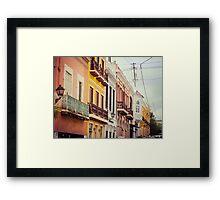 Old San Juan_3, Puerto Rico Framed Print