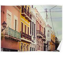 Old San Juan_3, Puerto Rico Poster