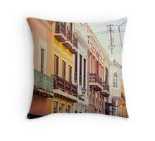Old San Juan_3, Puerto Rico Throw Pillow
