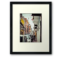 Old San Juan_5, Puerto Rico Framed Print