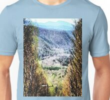The Mountain's Valley View Unisex T-Shirt