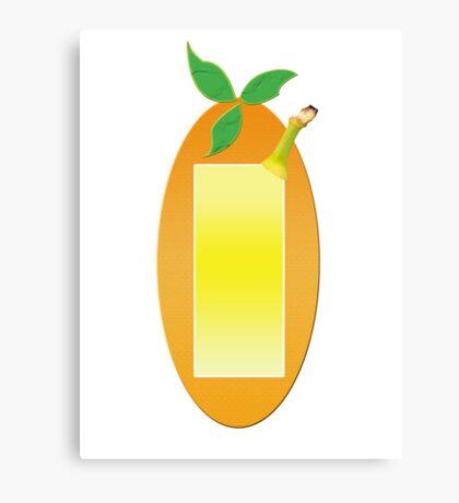 Fruit Shapes Canvas Print