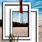 Lighthouse in Frame by Jim Semonik