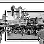 The Boardwalk at Seaside Heights, NJ by Jim Semonik