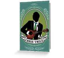 Chris Thile Greeting Card