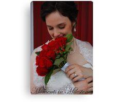 Bridal Portrait- #2 Canvas Print