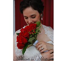 Bridal Portrait- #2 Photographic Print