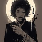 Jimi Hendrix by nicebleed