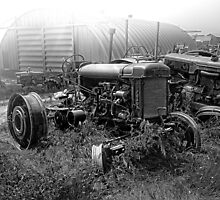 Fordson Tractor by Patrick Kavanagh