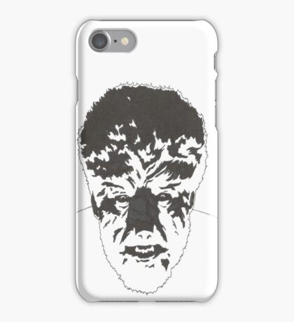 Wolfman iPhone Case/Skin