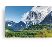 Mount Index and the Skykomish Valley Canvas Print