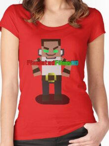 Mr. Pixel Women's Fitted Scoop T-Shirt