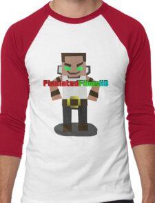 Mr. Pixel Men's Baseball ¾ T-Shirt