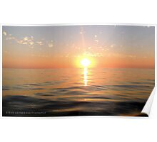 The Spectacular Sunset. Poster