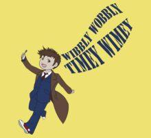 Timey Wimey 10th Doctor Kids Tee