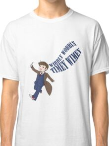 Timey Wimey 10th Doctor Classic T-Shirt