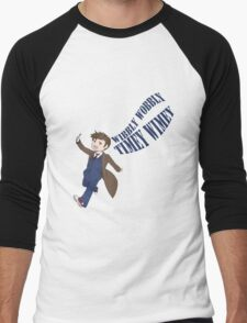 Timey Wimey 10th Doctor Men's Baseball ¾ T-Shirt