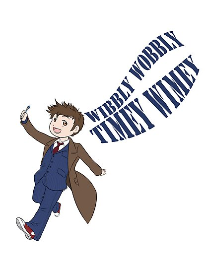 Timey Wimey 10th Doctor by CyiaKanami