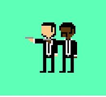 Pulp Fiction Pixel  by dobby12334