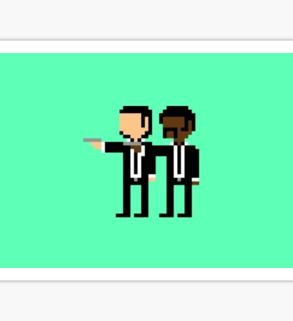 Pulp Fiction Pixel  Sticker
