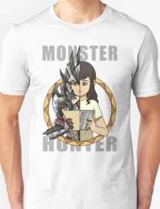 Hunter's Life (Silver Rathalos G) (F) Unisex T-Shirt