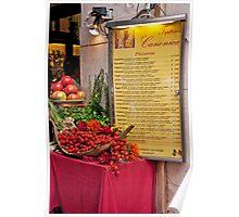 Fresh Ingredients Poster
