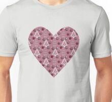 Joy, Peace, Love! pink Unisex T-Shirt