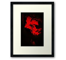 Tango of Passion for You Framed Print
