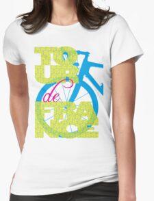 Tour De France Womens Fitted T-Shirt
