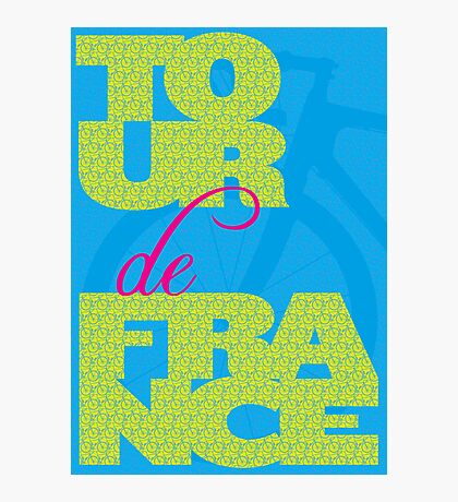 Tour De France Photographic Print