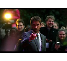 Gerard Butler wants YOU... Photographic Print